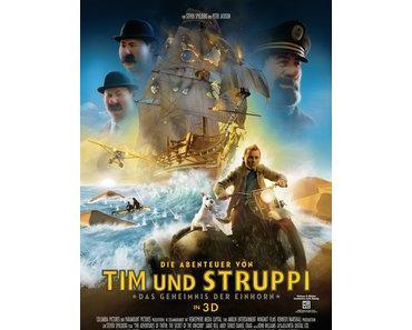 Kino-Kritik: Die Abenteuer von Tim und Struppi – Das Geheimnis der Einhorn 3D