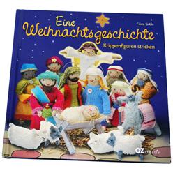Unser Buchtipp für Weihnachten: Krippenfiguren stricken