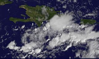 Satellitenbild Dominikanische Republik: Unruhiges Wetter in Punta Cana und Cabarete zu erwarten