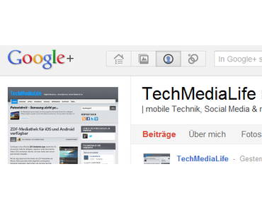 TechMediaLife bei Google Plus