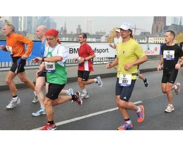 Marathon Bestzeit in Frankfurt