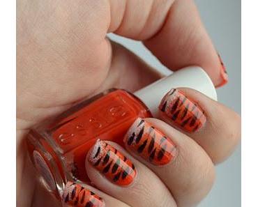 Nageldesign: Tiger Nails