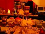 Gefüllte Datteln, Feigengebäck Kaffee Kardamom Nelken