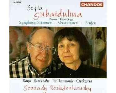 Sofia Gubaidulina, 80. Geburtstag, Veranstaltungen in Hannover