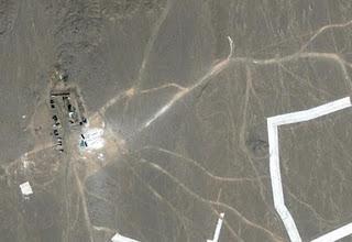 Video seltsame Strukturen und Symbole Gobi China (Google Earth und Google Maps)