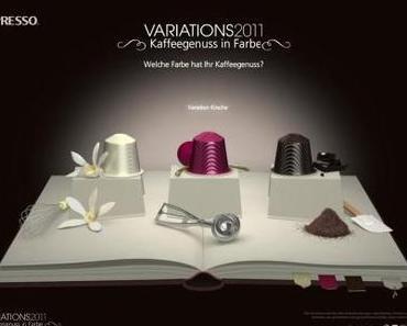 Nespresso Variations 2011