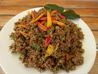 Khua Kling - คั่วกลิ้ง - ein trockenes Thai-Curry / A Dry Thai Curry