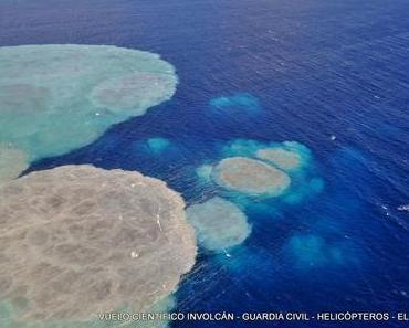 Erdbeben und Vulkan EL HIERRO aktuelle Situation: Der Fleck wächst, starker Anstieg der Gaskonzentration, weniger aber stärkere Erdbeben
