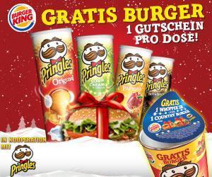 |Aktion| Pringles genießen, Burger King-Gutscheine erhalten!