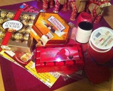  News  Mein Ergebnis der 1. Woche im Ferrero Kreativwettbewerb oder: Basteln mit Mon Cheri
