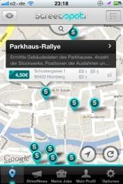 Streetspotr – die iPhone App ermöglicht es Ihnen, unterwegs kleine Jobs auszuführen