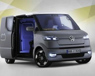 Weltpremiere in Potsdam: Volkswagen eT! – die Neuerfindung des Zustellfahrzeugs