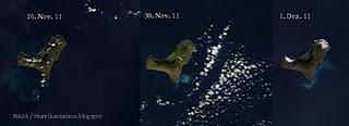 Vulkan EL HIERRO aktuell: Verwirrung um NASA-Satellitenfotos