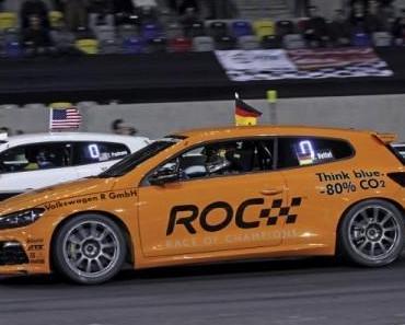Volkswagen beim Race Of Champions: Gibt´s die Vettel Revanche?