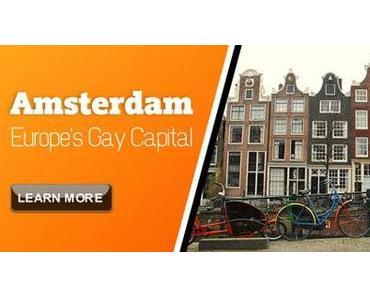Schwulen-Szene in Amsterdam