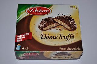 Delacre Dome Truffé, Verkade Karamel Fijnproevers und Nestlé ToffeeCrisp Biscuits