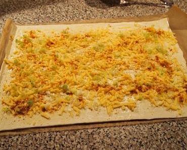 Happy 3. Advent - mit Käseschnecken (Cheese Swirls)