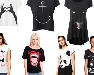 Wishlist Print -Shirts