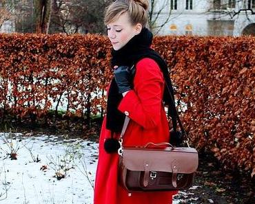 Outfit Post // The Red Coat