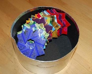 Datensicherung: Origami-Kranz