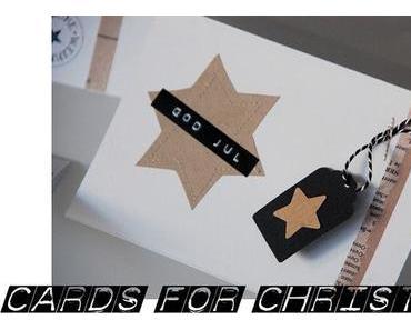Weihnachtskarten gebastelt - Christmas Card DIY