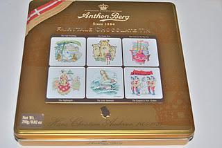 Anthon Berg Fairytale Chocolate Tin