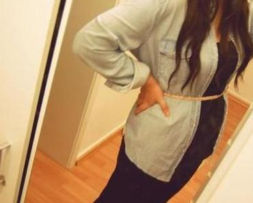 OOTD - Jeanshemd // neues Accessoire