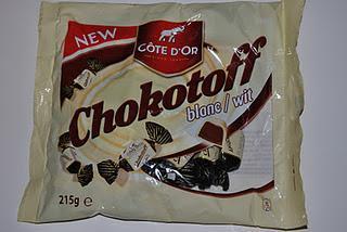 Cote d'Or Chokotoff Weiß, Cote d'Or Kilt und AH Excellent Praliné Hazelnootpasta