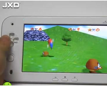 JXD S7100-Erstes Wii U Plagiat?