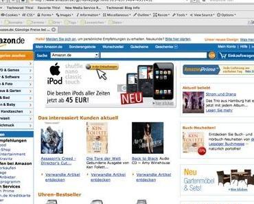 Amazon : Räumt sein Lager (Neue Angebote) !