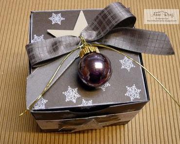 Weihnachtliche 7cm-Boxen