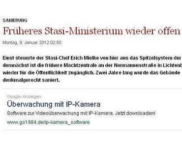 Stasi-Zentrale wieder offen: Wissen, wie es ist