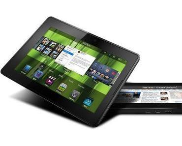RIM will 2012 zwei neue Playbook-Tablets auf den Markt bringen.