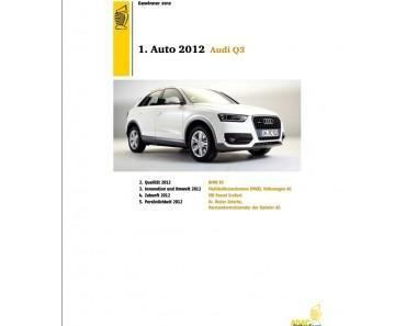 ADAC Gelber Engel 2012: Audi Q3, BMW X5 uvm. gewinnen begehrten Preis