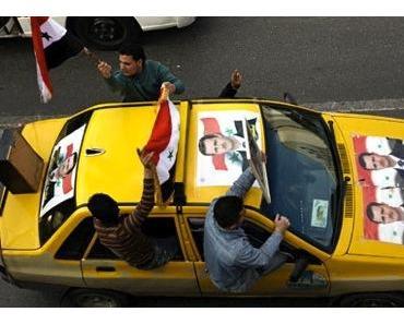 Die Mehrheit der Syrier unterstützt Präsident el-Assad