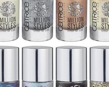 "Preview: Catrice LE ""Million Styles"" / neue Lacke"
