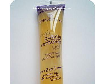 [Review] essence nail cuticle remover gel