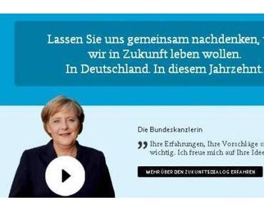 Mitbestimmung oder Mogelpackung: Merkels Zukunftsdialog