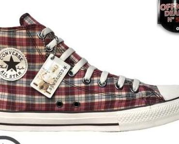 Converse Chuck Taylor All Star Chucks 101924 Military Plaid Kariert Rot Braun