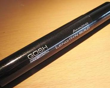 GOSH amazing length'n build mascara