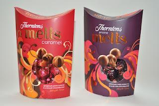 Thorntons Melts Caramel und Praline Melts