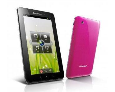 Tablet für echte Mädchen – Das Lenovo A1 in pink
