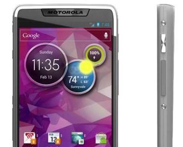 Motorola Smartphone mit Intel-Prozessor und Android 4.0 zeigt sich