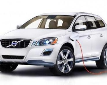 Volvo XC60 Plug-In Hybrid Concept auf der Detroit Motor Show