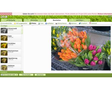 Macht mal ein Picnik! – Ein tolles Online-Bildbearbeitungsprogramm