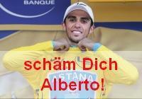 Schäm Dich Alberto!