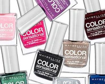 Maybelline Jade: 48 neue Nagellackfarben + neue Lidschatten