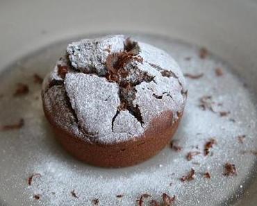 Gâteau au chocolat et au vin rouge