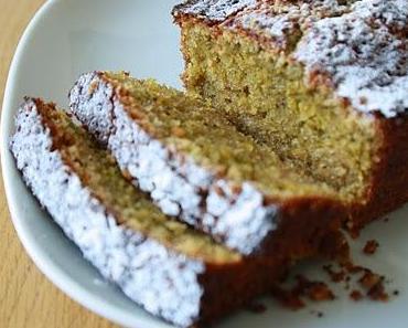Gâteau marbré citron-pistache