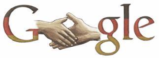 Google Doodle zum Tag der Deutschen Einheit